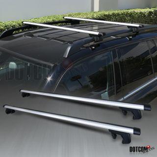48 AUTO SUV CAR ROOF TOP CROSS BARS LUGGAGE CARGO RACK PAIR