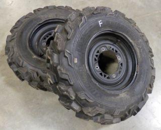 Xplorer 400 Sportsman Xpress Xpedition Magnum ATV Front Wheels Tires