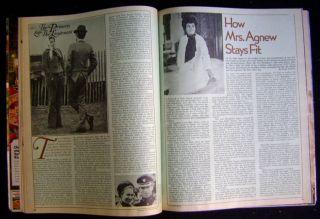 Vintage Ladies Home Journal July 1973 Marilyn Monroe