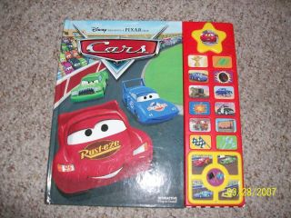 Disney Pixar Cars Play A Sound Book w Bonus