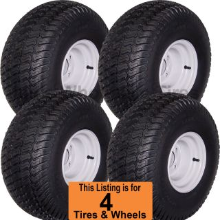 Cart Tires Wheels Rims Fits EZGO Club Car Yamaha Harley More