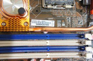 ASUS striker II NSE Socket 775 NVIDIA nForce 790i SLI motherboard