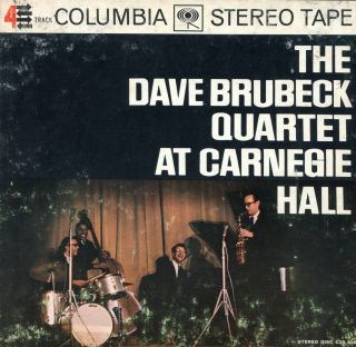 Dave Brubeck at Carnegie Hall Columbia Stereo 71 2 I P s Reel to Reel