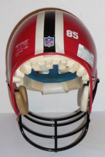 1987 Falcons Bike NFL Football Helmet Game Used by 85
