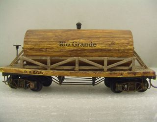 Rolling Stock Hand Built Rio Grande Tank Car with Truss Rods 28