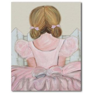 Ballerina Nursery Art Baby Girl Room Decor Kid Print