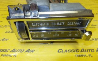 67 68 Cadillac A/C HEATER AUTO TEMPERATURE CONTROL AC Air Conditioning