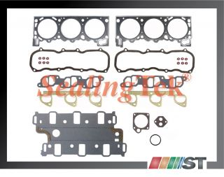 91 94 Ford 4 0L V6 OHV Engine Cylinder Head Gasket Set New Autoparts