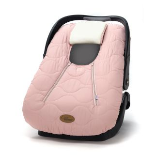 Cozy Cover Infant Baby Car Seat Cover Original Stitched in Pink