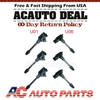 New Ignition Coil Pack 2000 2001 Nissan Sentra 1 8 L4