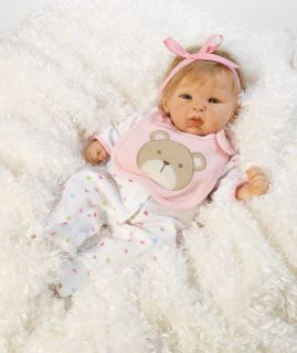 is definitely the word to describe this adorable baby doll happy teddy