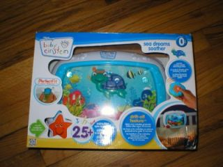 Disney Baby Einstein Sea Dreams Soother Crib Toy Music Lights Remote