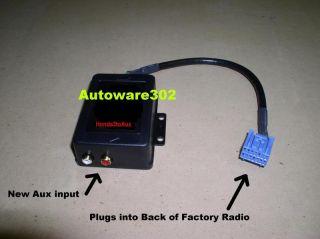 Honda Civic 2004 Radio iPod Zune iRiver  Aux Input