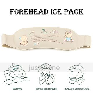 Baby Toddler Family Health Care Hot Cold Forehead Ice Therapy Gel Pack