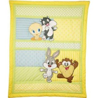 Baby Looney Tunes Crib Bedding Nursery Set Bugs Bunny Taz Out to Play