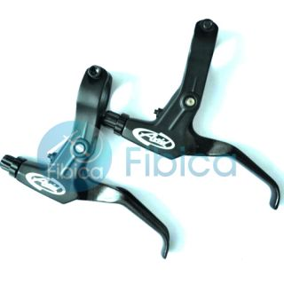 Avid Fr 5 FR5 Brake Lever Set Black for SRAM Shimano V Brake Disc