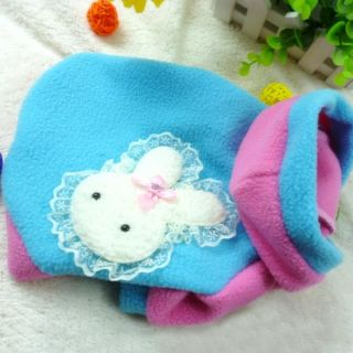 Cozy Cute Pet Dog Warm Clothes Puppy Rabbit Hoodie Costume Apparel