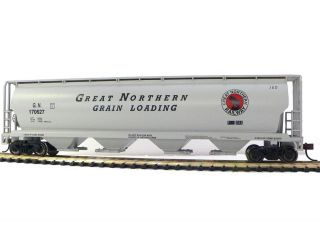 HO Scale Model Railroad Trains Layout Bachmann Great Northern 56