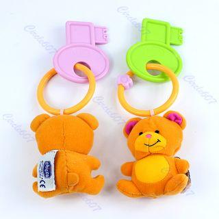 Pcs Baby Toddler Bear Teether Chew Toy Teething Stuffed Catoon Plush