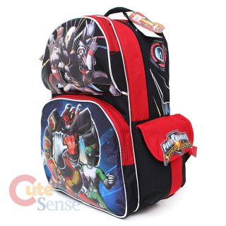 Power Rangers School Backpack Bag 16 Large Super Legends