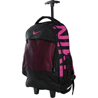 an image to enlarge nike accessories microfiber core rolling backpack