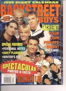 Backstreet Boys 1999 Nick A J Kevin Howie Brian RARE