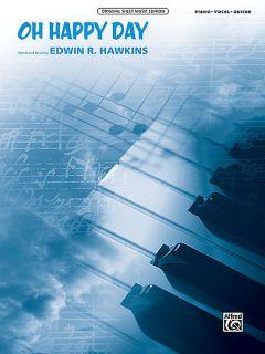 Edwin Hawkins Joan Baez Aretha Franklin Oh Happy Day PVG Sheet Music