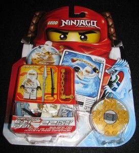 NIP Lego Ninjago Starter Set 2nd NIP Figure Masters of Spinjitsu 2171