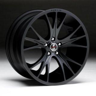 20x9 20x11 Matte Black Carroll Shelby CS 1 Wheels Rims 2005 2012