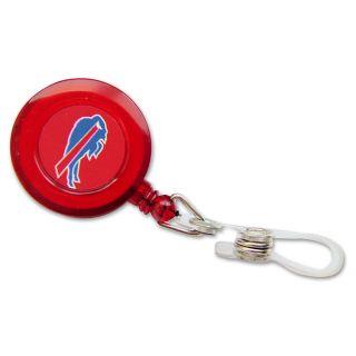 Buffalo Bills Retractable Badge Reel ID Ticket Clip NFL