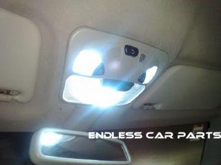 White 7 LED SMD Interior Pkg GMC Yukon Denali 07 11
