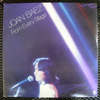 Joan Baez from Every Stage A M SP3704 1976 12 2 LP