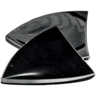 Paul Yaffe BLACK Bagga Chips Bagger Nation Mirror Block 06 12 Harley