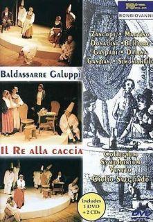 BALDASSARE GALUPPI   IL RE ALL CACCIA / SVEGLIADO, [REGION FREE] NEW