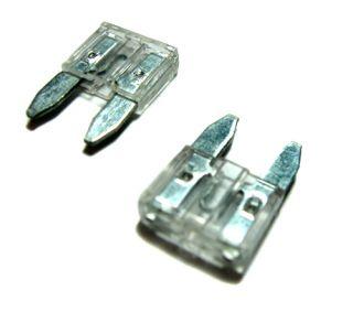 100pcs 25 Amp Mini Blade Fuses apm ATM Automotive Fuse Pack 25A A Car