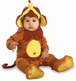Infant Monkey Cute Baby Animal Halloween Costume 6 12M
