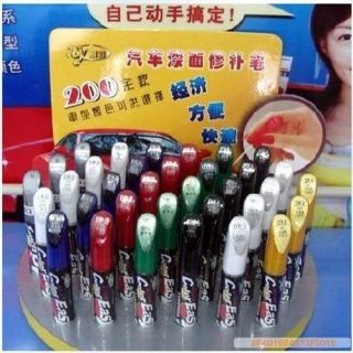 Car Auto Color Easy Touch Up Paint Brush Tip Colourful