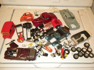 Custom Car Parts Model Cars Drag Racing Wheels Tires Engines Parts Lot