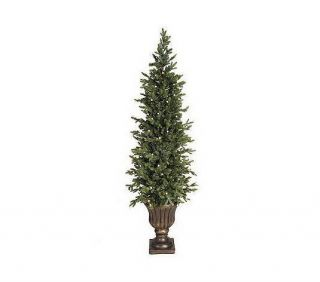 Bethlehem Lights Solutions 6 Battery Op Urn Tree w/ Timer CHRISTMAS