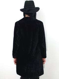 Banana Republic Black Velvet Goth Steampunk Victorian Gypsy Jacket