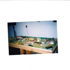 Train Toy Bachmann Walters Atlas Train Table Buildings Scenery City HO