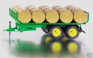 Siku 2891 Round Bale Trailer with Bales 1 32 Scale New