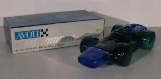 Avon Sure Winner Racing Car after shave in box