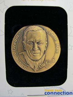 Disney Cast Member WALT Award 100 YEARS OF MAGIC Medallion Jumbo