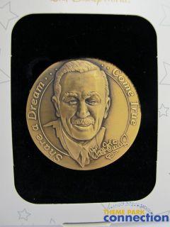 Disney Cast Member WALT Award 100 YEARS OF MAGIC Medallion Jumbo