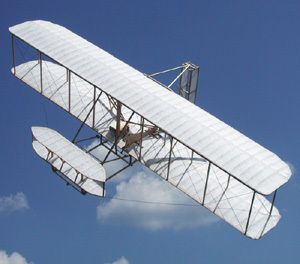 Wright Flyer Guillows Balsa Wood Model Airplane Kit 1202