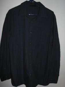 Axist Surf Soft Mens Long Sleeve Button Front Shirt XL