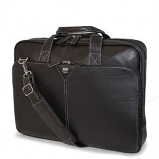 Mobile Edge Deluxe Leather Briefcase Laptop Cases Bags