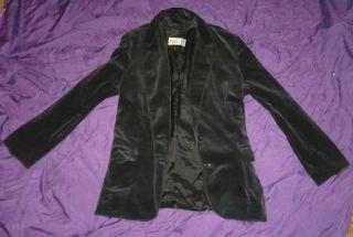 Bam Margera Style Black Velvet Jacket Blazer SM Him