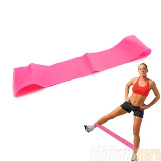 New Yoga Resistance Bands Resistance Exercise Loop 18 Wrist Ankle